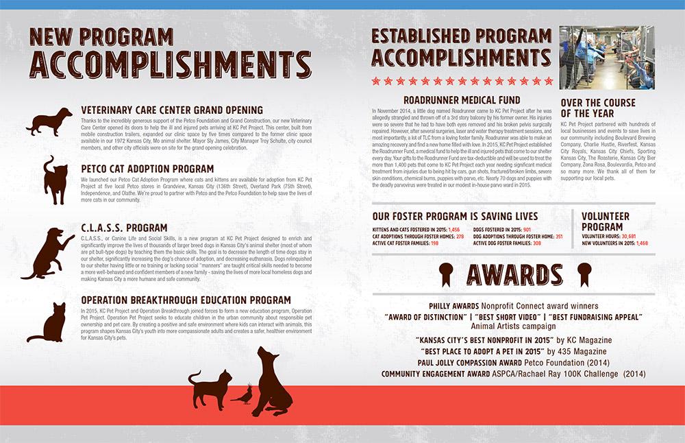 Annual report design for non profit