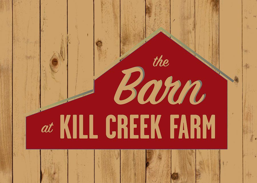 The Barn at Kill Creek Farm Logo Design
