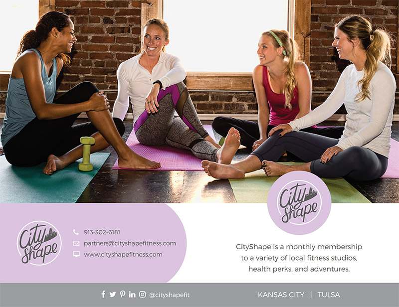 Bi-fold brochure design for gym club fitness business