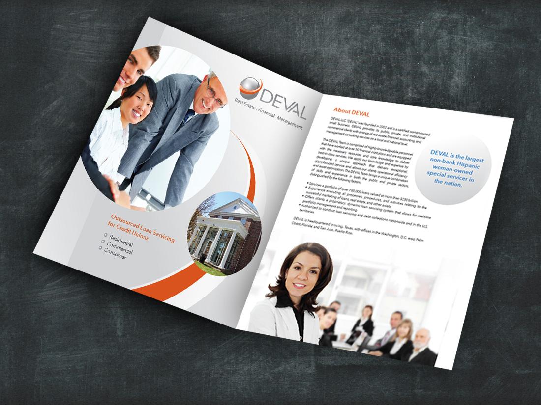 Deval Brochure Design