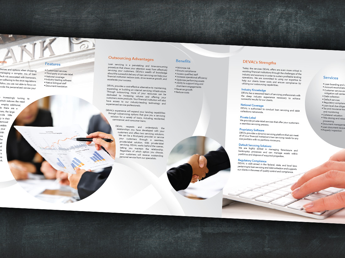 Brochure design for business