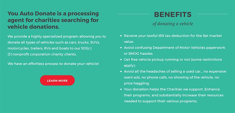 fundraiser web design