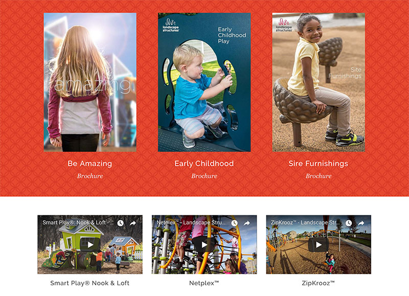 Playground firm website development