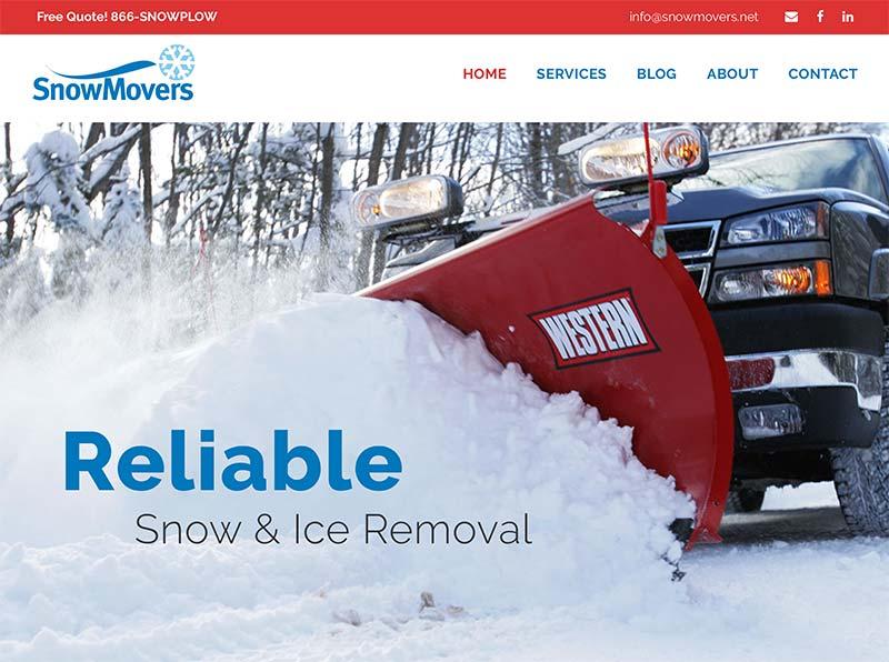 Wordpress website designer for Maintenance and Utility companies